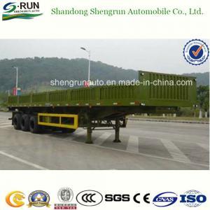 Shengrun 30-60 Tons Side Wall Semi Trailer/Vietnam Truck Trailer Manufactures