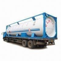 Propane Tank Container with 1.8MPa Design Pressure, Available in 20, 30 or 40ft Sizes Manufactures