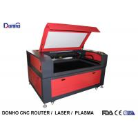 Red Color CO2 Laser Engraving Machine with Leetro Control System For Acrylic / Wood Manufactures
