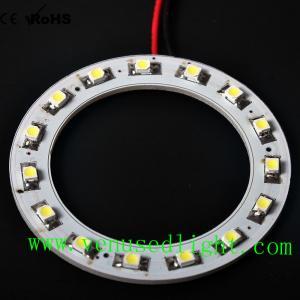 60MM 15led Bright 3528 Led Car Angel Eyes Halo Ring Light Headlight AA6 Manufactures