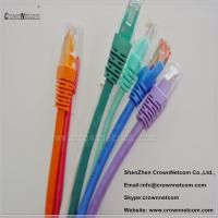 China 8 Colors UTP RJ45 Ethernet Cat6 Patch Cable 26AWG Stranded Copper With Different Lengths on sale