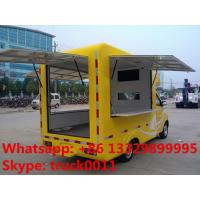 Quality Kaima brand electronic mobile food truck,  China 2016s new design electronic power mobile fast food truck for sale for sale