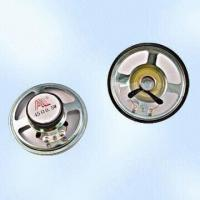 0.5W Raw Loudspeakers, Available in Ferrite Type, RoHS Compliant Manufactures