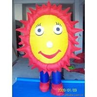 Festivals Decorative Inflatable Flowers Fireproof Customized High Tension Manufactures