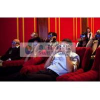 Luxury 4d movie theater  , simulator 4d cinema system With hydraulic control movie theatre seats Manufactures