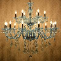 Fancy chandeliers for sale Pink Color with gold body ( WH-CY-01) Manufactures