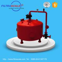 China Automatic backwash sand filter for drip irrigation on sale