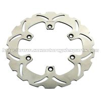 Aftermarket Front Motorcycle Brake Disc Honda CBF 500 VFR750F Heat Treatment Manufactures