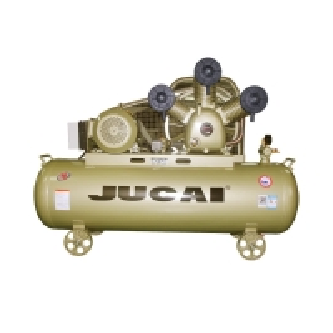 Jucai 10hp 7.5kw 250L Gas Reciprocating Piston Air Compressor Belt Driven Manufactures