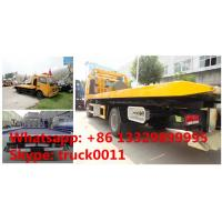 Quality CLW5080TQZ4 dongfeng 120hp 3tons road wrecker truck for sale, factory sale best price dongfeng flatbed towing vehicle for sale