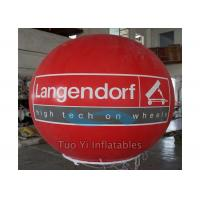 Quality Longevity Colorful Branded Balloons / Strength Helium Sphere Lead Free Hand for sale
