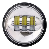 Auto caaessories daytime running 4.5 inch led fog lamp 30w angel eyes motorcycle headlights Manufactures
