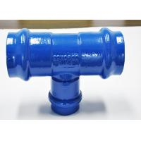 Blue Ductile Cast Iron Gas Pipe Fittings Environmental Protection Manufactures