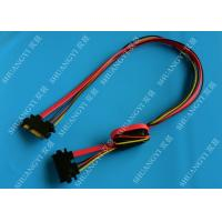 22 Pin SATA Extension Cable with Converter 5V to 3.3V For Power Manufactures