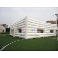 Commercial Clear Inflatable Lawn Tent / Outdoor Blow Up Show Tent for Rental Business Manufactures