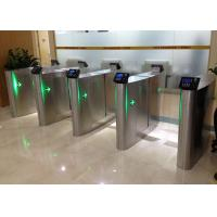 Security Sliding Speed Gates Turnstile Accurate Logical Judgment Barrier Access Manufactures