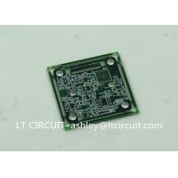 Immersion Silver Multilayer PCB BGA IC Slots Cutout Green Solder Mask Manufactures