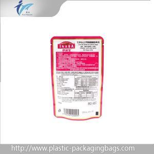 Custom Logo And Brand Printing Cat Fish Dog Pet Food Bags , PET / AL / PE Manufactures