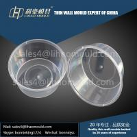 450ml high precision disposable thin walled container mould solution supplier Manufactures