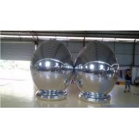 Waterproof Inflatable Balloons , Inflatable Mirror Promotion Ball For Shopping Mall Manufactures