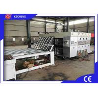 High Speed Flexographic Box Printing Machine 3 Color 1 - 12mm Cardboard Thickness Manufactures