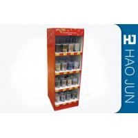 Point Of Sale Cardboard Display Stands CMYK Full Color Print , Color Customized