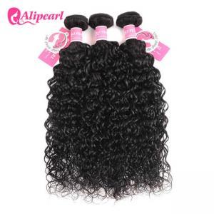Real Brazilian Virgin Human Hair Bundles Natural Water Wave Shedding Free Manufactures