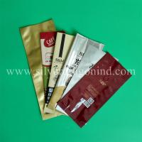 various coffee bags with valve, side-sealed, back-sealed, quad-sealed shape Manufactures