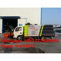 High quality road sweeper truck with snow removal for sale, best price snow removal mounted on CLW brand street sweeper Manufactures