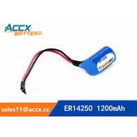 ER14250H with Axis 3.6V 1.2Ah memory back up battery Manufactures