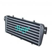 550mm X 140mm X 65mm Universal Intercooler , Black Front Mount Intercooler Manufactures