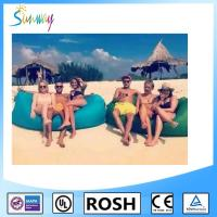 Nylon Sunbathing Fabric Fast Inflatable Sleep Bag Outdoor Lawn Manufactures