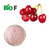 Organic Fruit Extract Powder , Acerola Cherry Extract Powder High Vitamin C Content Manufactures