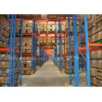 Economical Warehouse Adjustable Pallet Rack Storage Systems With Stable Structure Manufactures