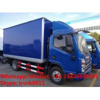 Factory customized best price JAC 4*2 LHD freezer refrigerator van truck for sale,Wholesale JAC 4tons cold room truck Manufactures
