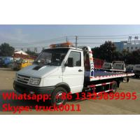 Quality 2017s IVECO 4*2 LHD 3tons wrecker tow truck for sale, factory sale best price for sale