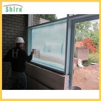Adhesive Backing Glass Safety Film , Glass Uv Protection Film Construction Use Manufactures