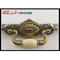 64mm Retro AntiBronze Ceramic  Cupboard Pulls Classical Porcelain Dresser knobs Furniture Hnadles and Knobs Manufactures
