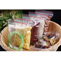 Good Quality Custom Made Clear Plastic PE bags with zipper lock Manufactures