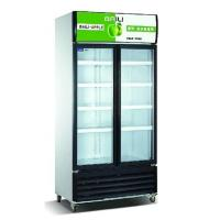 Vertical Showcase 818L Commercial Refrigerator Freezer LC-608M2AF For Supermarket Manufactures