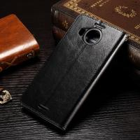 Quality Nokia 950XL Nokia Lumia Leather Case Anti - Dirty Light Weight Crazy Horse Material for sale