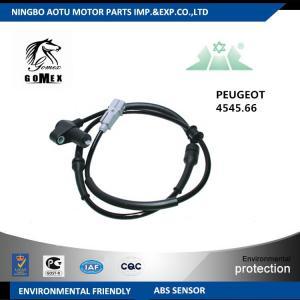CE Car wheel speed sensor automobile part for PEUGEOT CITROEN Manufactures