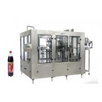 Glass And Plastic Bottled Soft Carbonated Drink Filling Line 200ml - 20000ml Manufactures