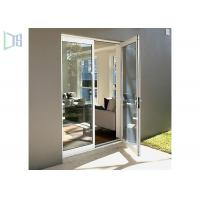 Buy cheap Glass Hinged Aluminium Casement Door For Commercial and Residential from wholesalers