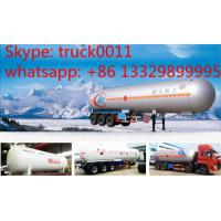 high quality and best price 56cubic meters bulk propane gas tank trailer for sale, bulk lpg gas tank trailer for sale Manufactures