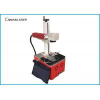 220V Raycus Fiber Laser Marking Machine For Fabric , Long Service Life Manufactures