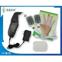 Black Sub Health Analyzer With Electrode Heating Pads Probes For Acupuncture Stimulation Manufactures