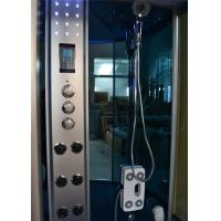 Quality 67 Inch Removable Whirlpool Bath Steam Shower Combination With Safety Suction for sale