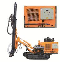 DTH Rock Well Drill Rig KG430SH Punching Machine For Hard Rock Rotary Drilling Rig Manufactures