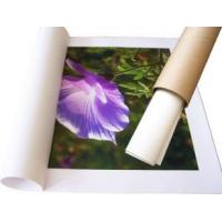 China Waterproof  Self Adhesive Inkjet Paper Rolls , Inkjet Synthetic Paper 150gsm on sale
